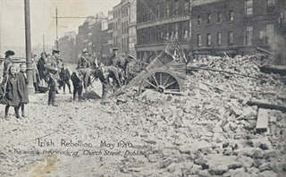 Postcards from the 1916 Irish Rebellion Exhibit - Ward Irish Music Archives Exhibit