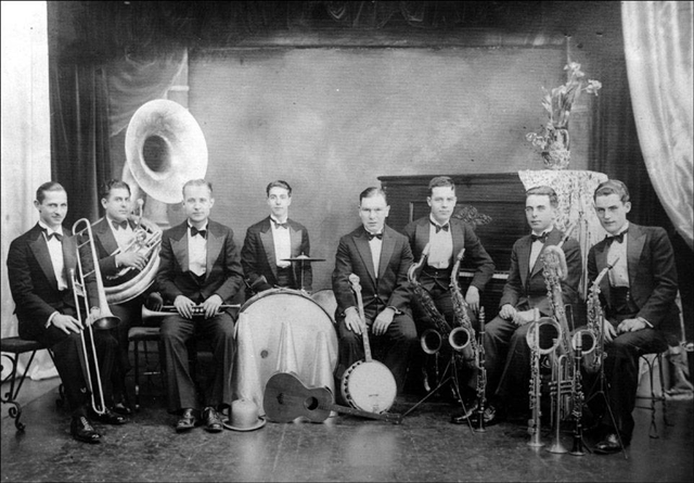 The Jack Healy Orchestra, courtesy of Michael James Healy