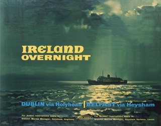 Ireland Overnight Poster - Come Back To Erin Exhibit