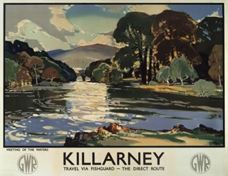 Killarney Poster - Come Back To Erin Exhibit