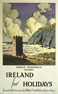 Ireland for Holidays Poster - Come Back To Erin Exhibit