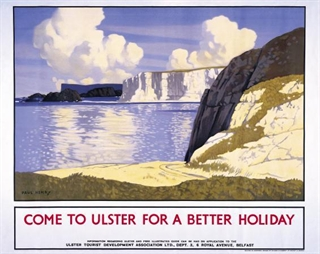Come To Ulster For a Better Holiday Poster - Come Back To Erin Exhibit