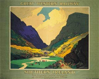 Great Western Railway Poster - Come Back To Erin Exhibit