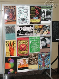History of Irish Rock Music Exhibit