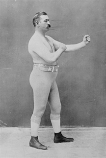 John L. Sullivan - The Fighting Irish Exhibit