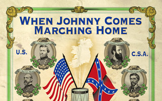 When Johnny Comes Marching Home Exhibit