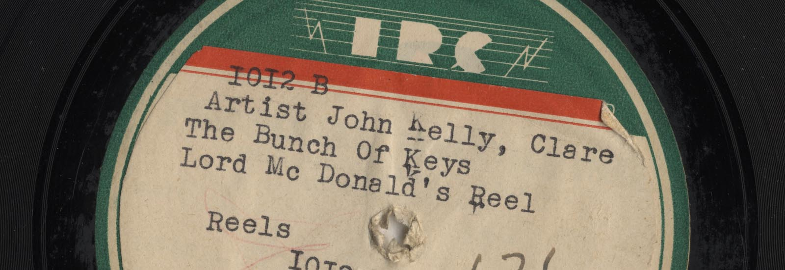 John Kelly: Irish Recording Company 78rpm Disc